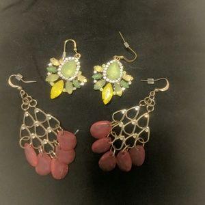 EUC Earrings- 2 pair